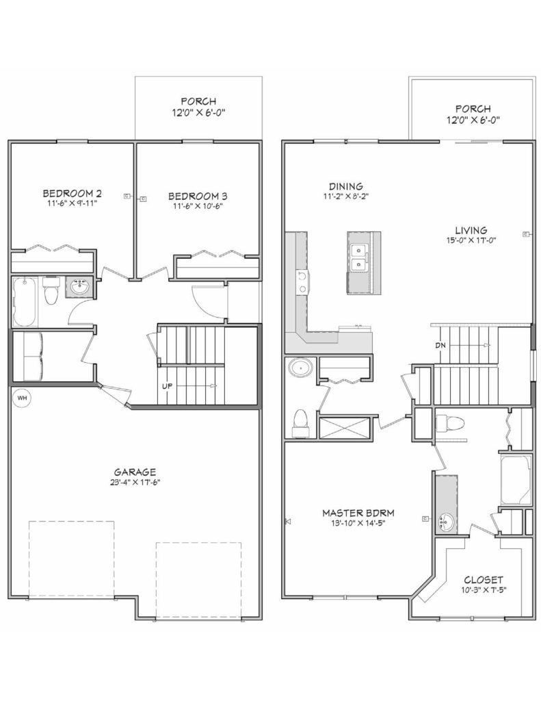 Egret Floor Plan
