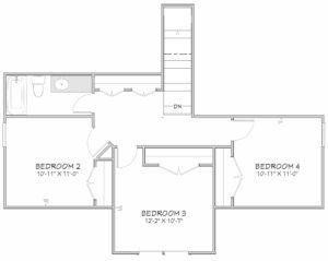 Magnolia Floor Plan 2nd Floor
